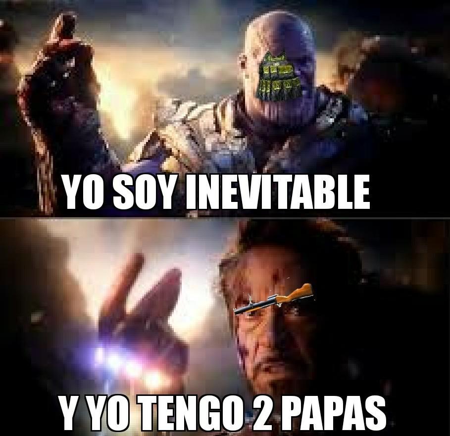 Rip chaleco nvl 4 - meme