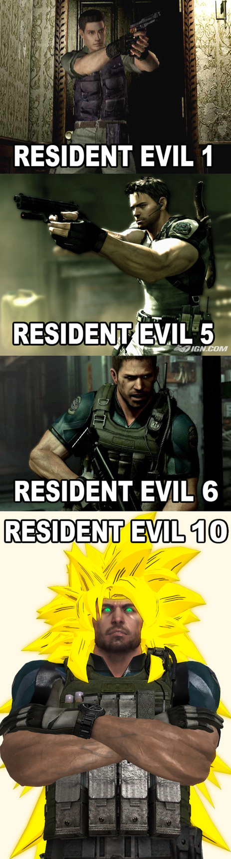 Im scared for Resident Evil 10... - meme