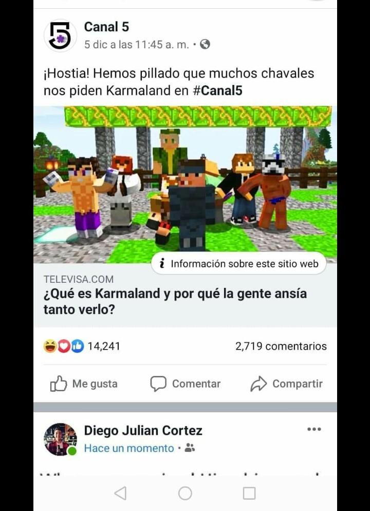 Temporada 1 de karmaland en canal 5 por favor - meme