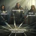 Swords United Shia LaBeouf