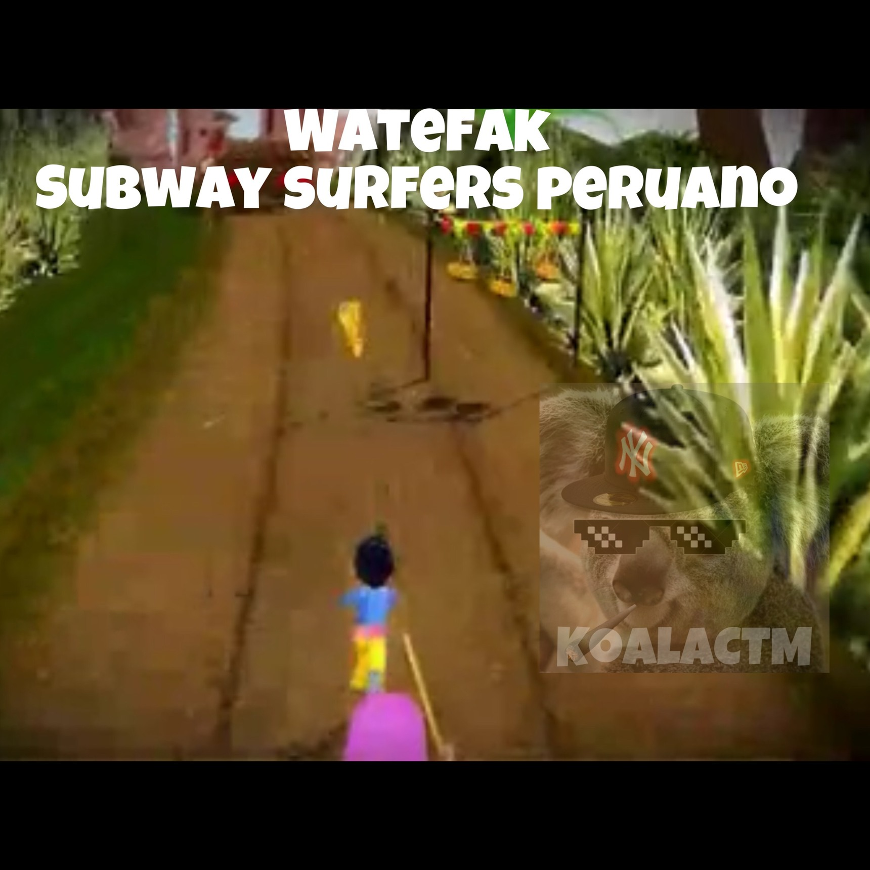 watefak ahora es peruano - meme