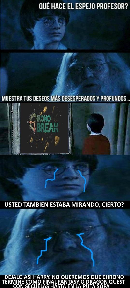 Chrono cross no cuenta - meme
