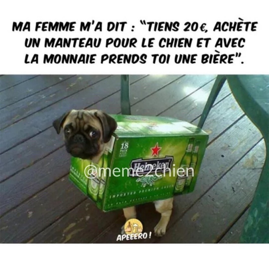 Tequila, Heineken, pas le temps de niaiser ! - meme