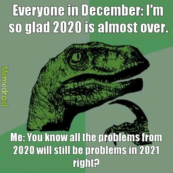 New year, same problems - meme
