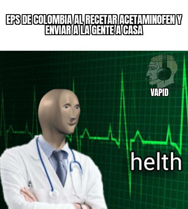 Eps de Colombia - meme
