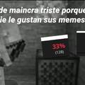 Paco triste
