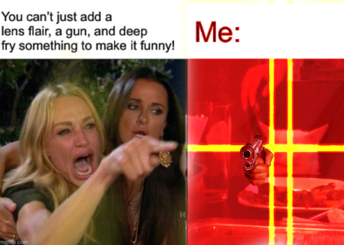 Comedy amiright? - meme