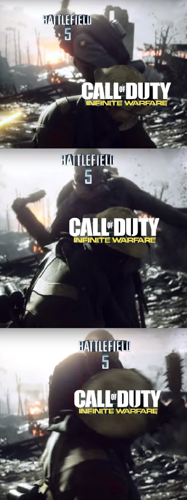 All Aboard the Battlefield Hype Train - meme
