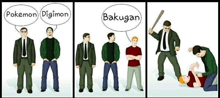 Bakugan de cu é rola! - meme