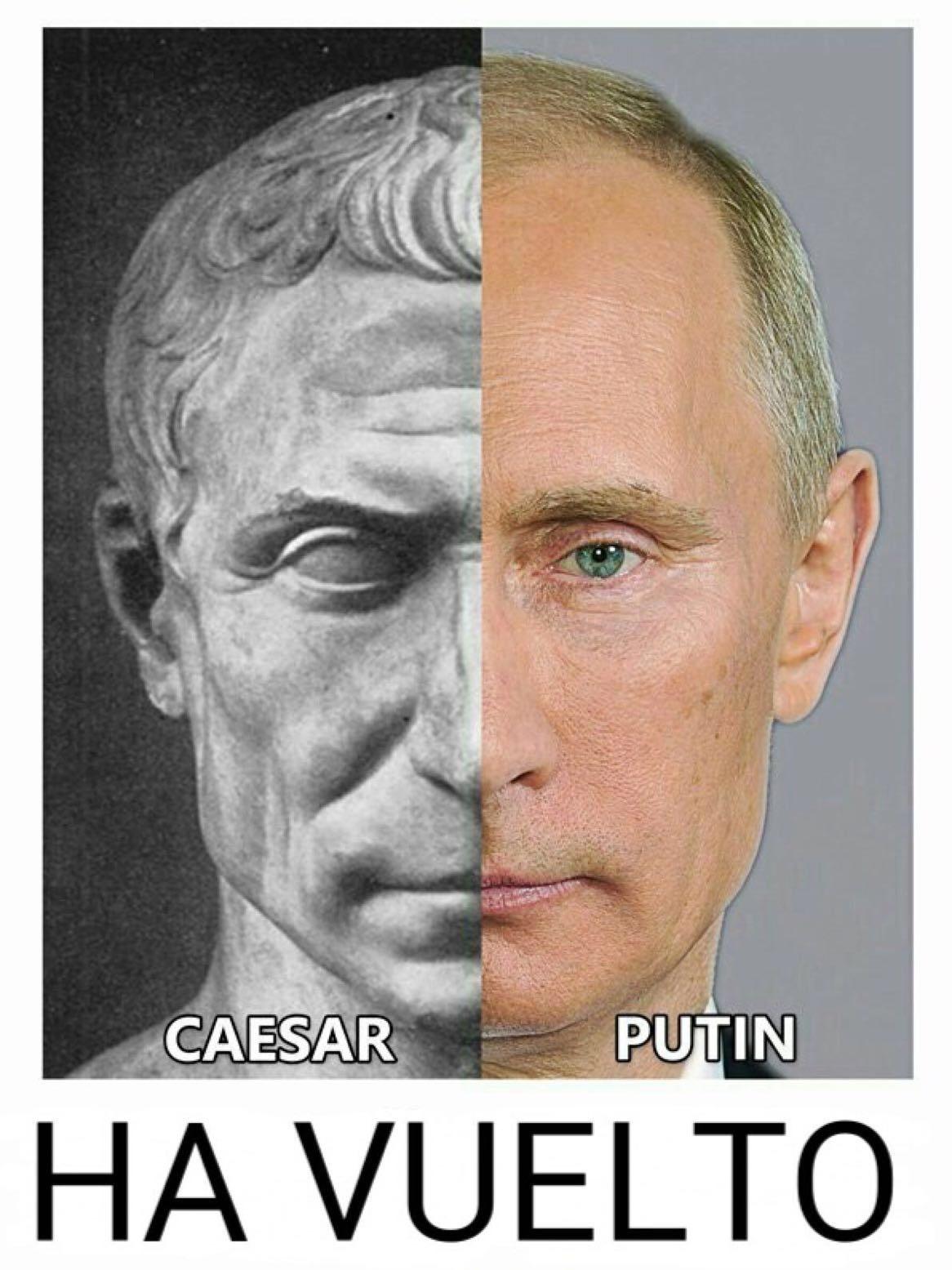 Ave, Putin, morituri te salutant - meme