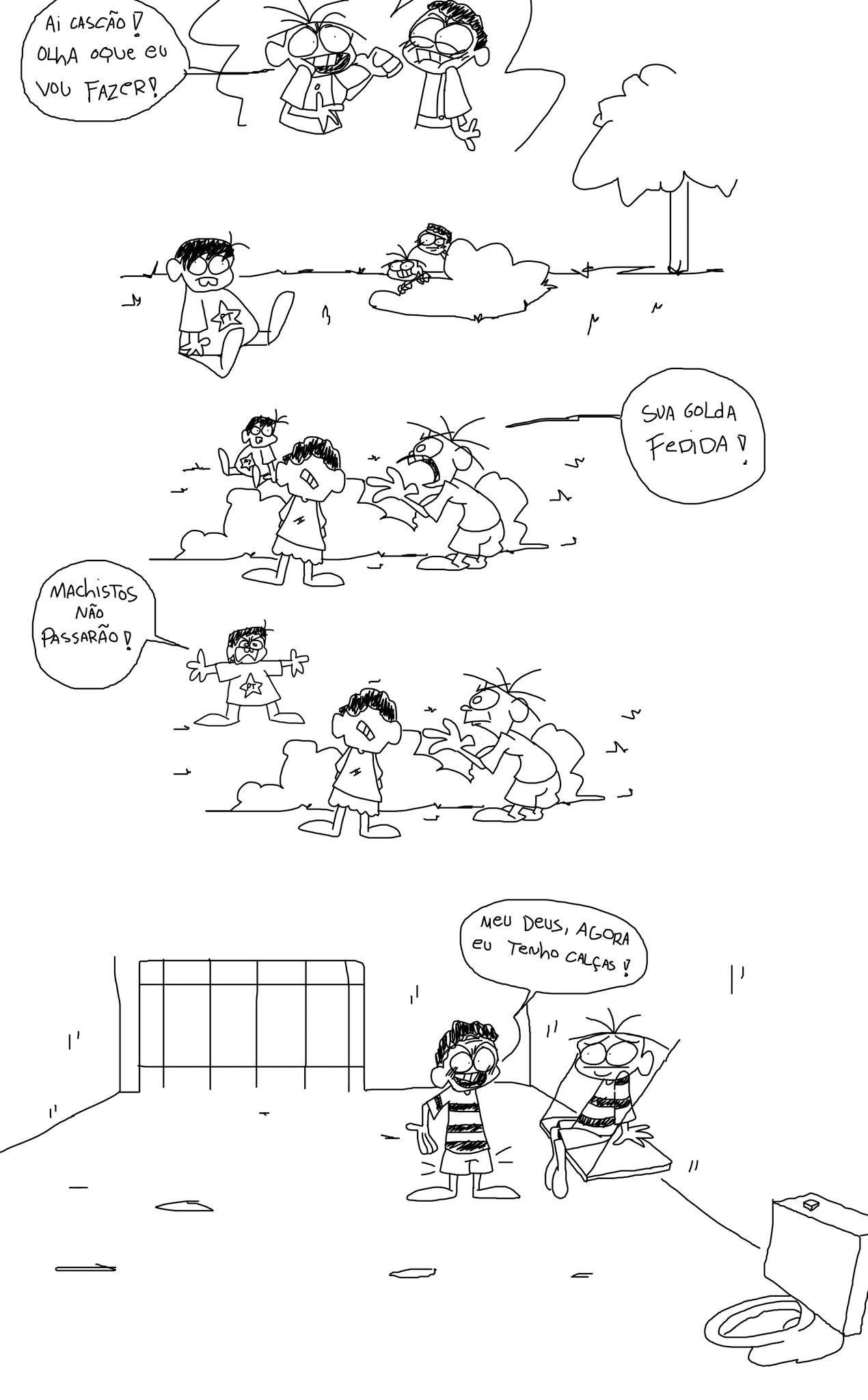 Cebolinha troslaum - meme