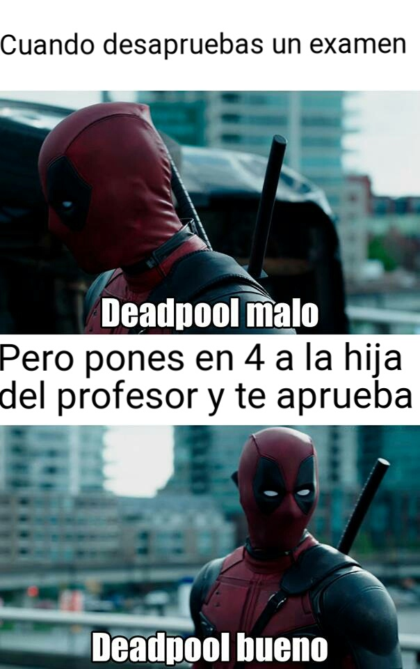 Deadpool good - meme