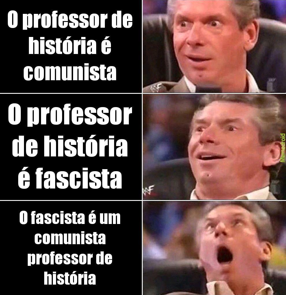 Seu fascista! - meme