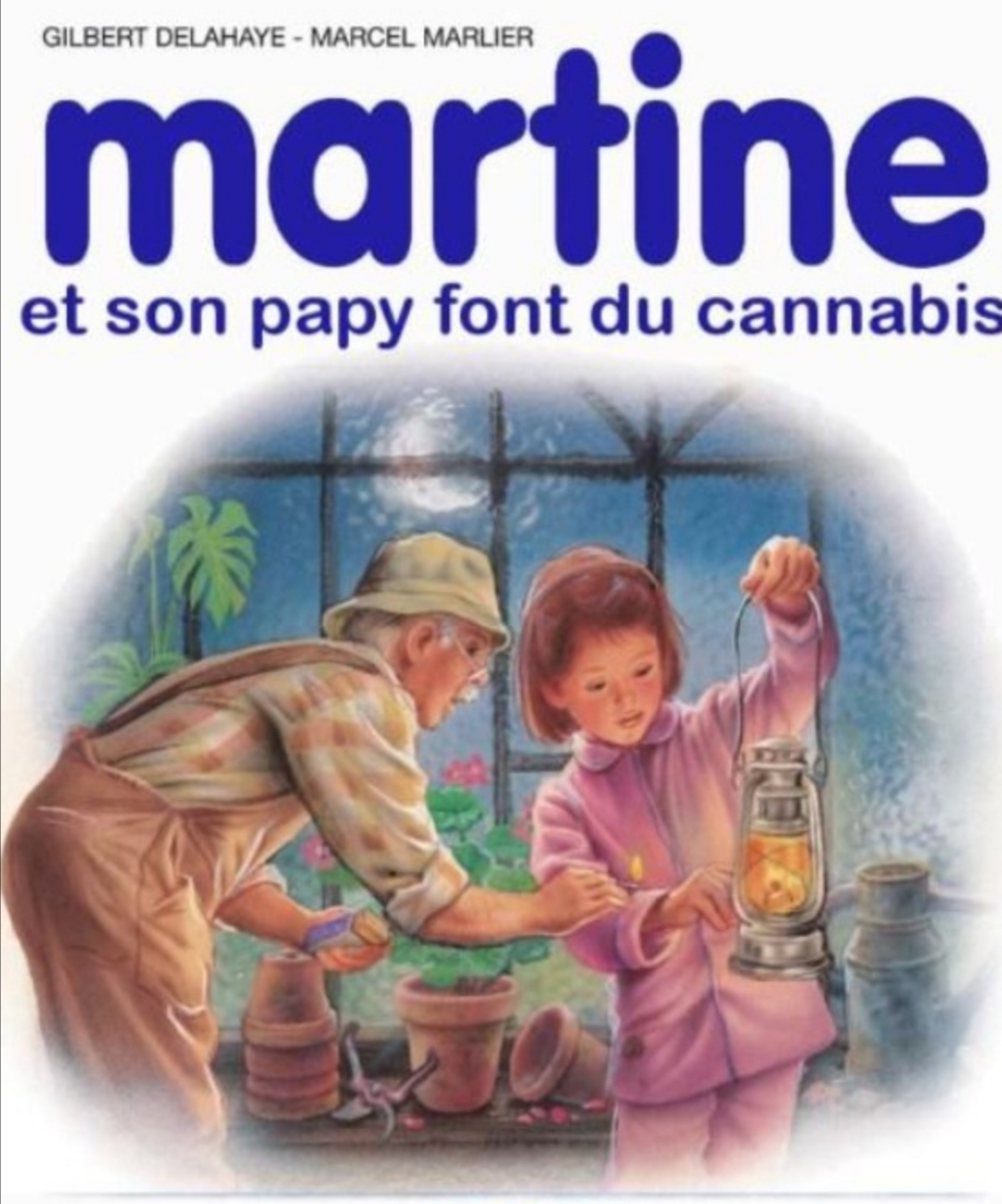 Grâce à papi Martine est déjà riche - meme