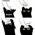 Conversa de sticker