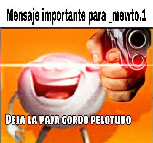 Mensaje - meme