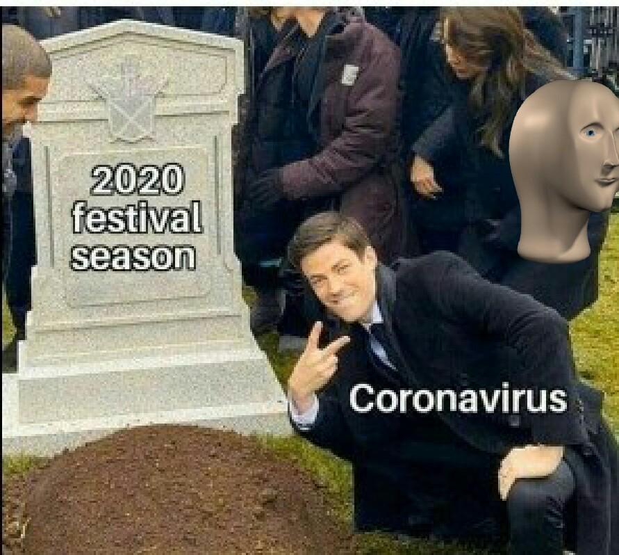 Dame la corona que yo ya tengo el virus - meme