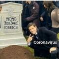Dame la corona que yo ya tengo el virus