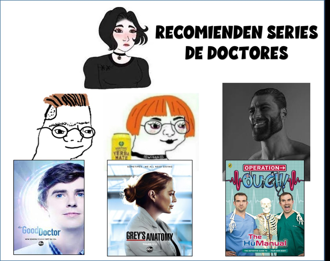 Los doctores criss y xand doctores chads - meme