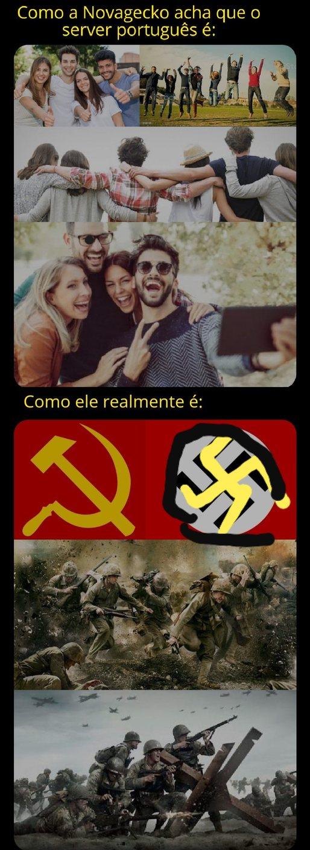 Comunista são viadoes - meme