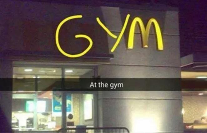 my kind of gym - meme