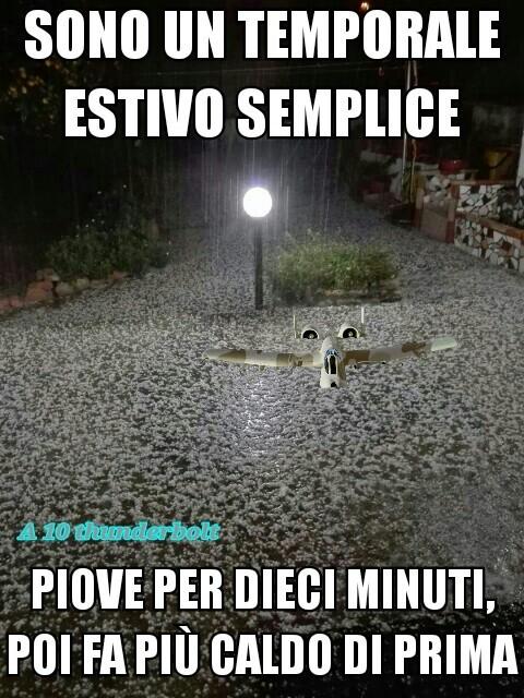 E poi piove - meme