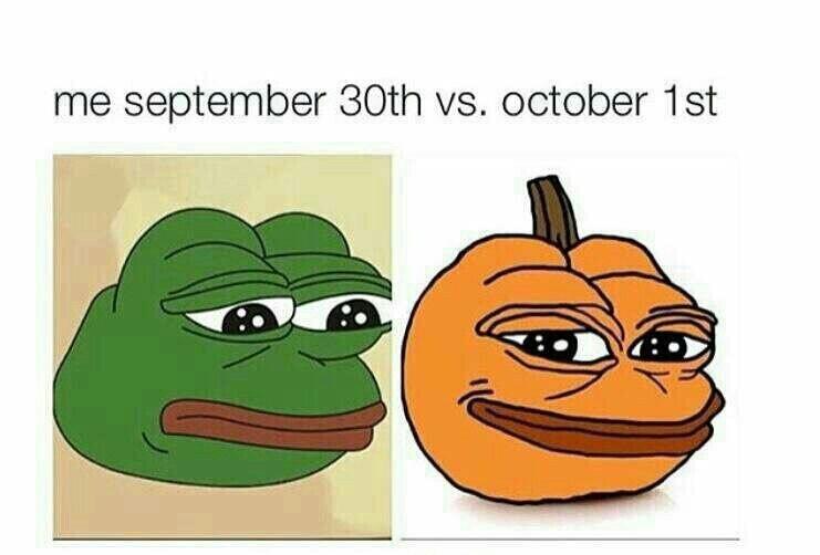 Halloween is near - meme