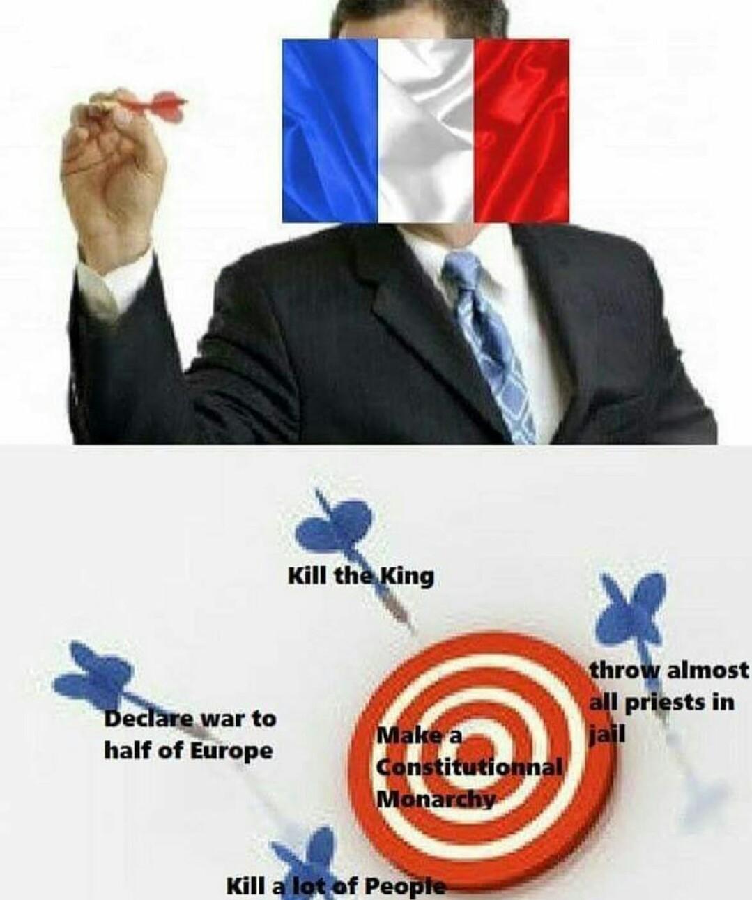 Hon Hon Hon, French Revolution! - meme