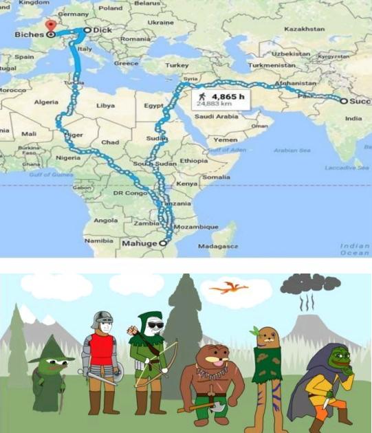 4chan's Journey 2 - meme