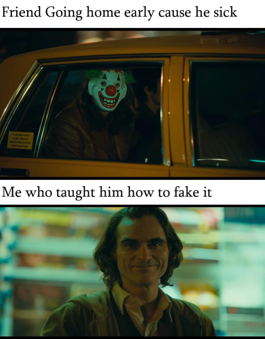 new joker trailer looks sick!! - meme