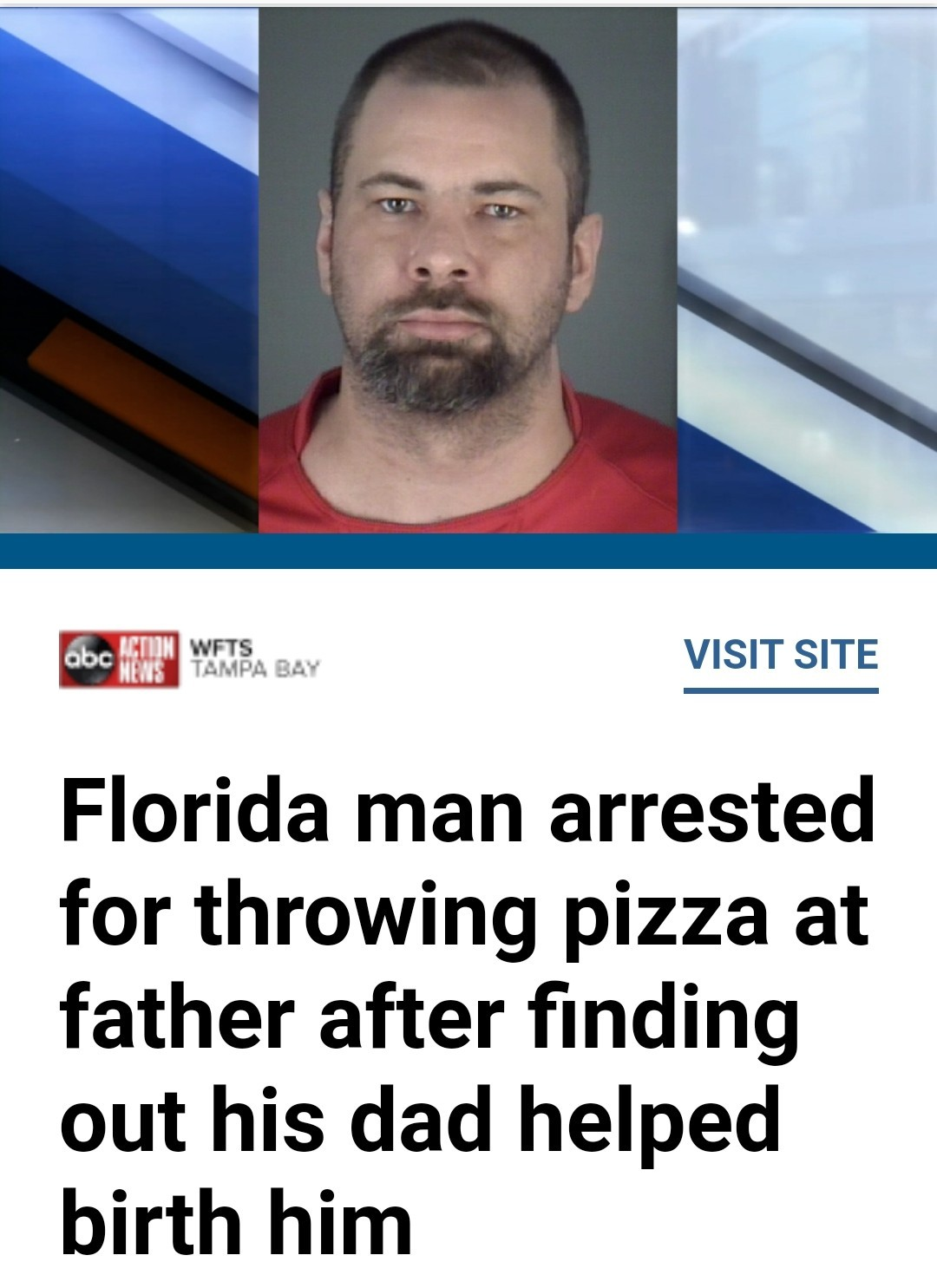 Florida man revised - meme