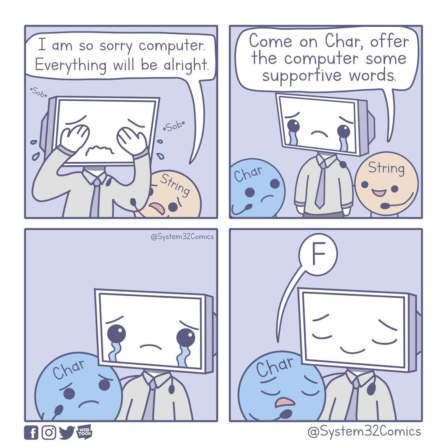 Supportive Words [Programming] - meme