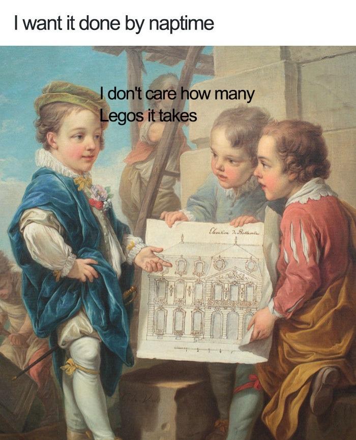 Eggo my Legos - meme
