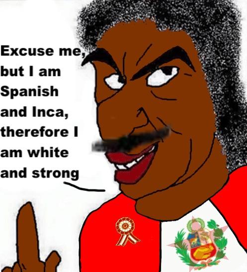 Soy un Inca wtfff (al final los incas solo son un montón de aimaras) - meme