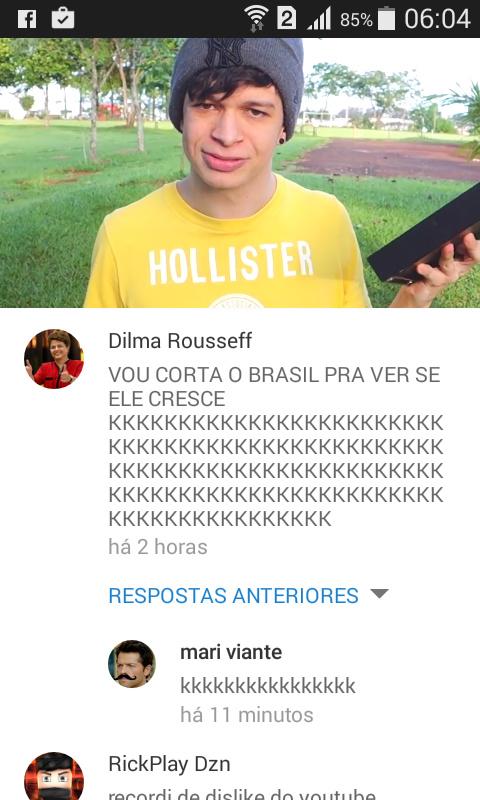 Até a Dilma - meme