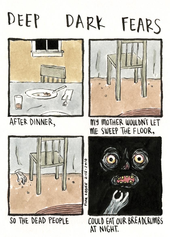 Deep Dark Fears - meme