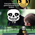 Bendy is still a pretty average horror game. posting just to see who I trigger