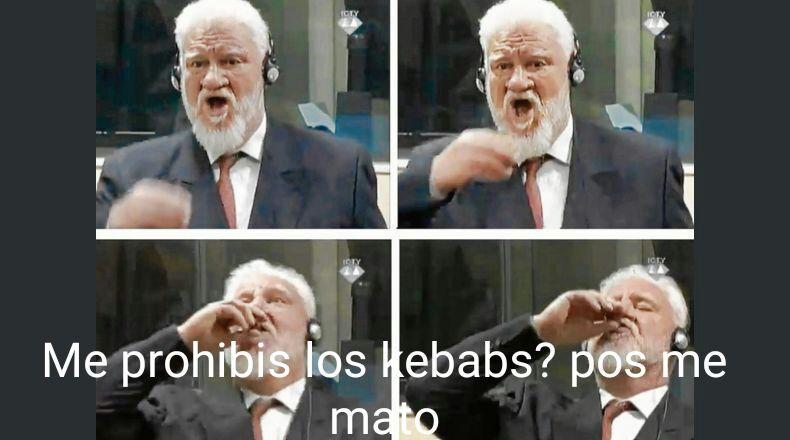 No a la prohibición de los kebabs! - meme