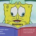Oh no, Boomer alert!