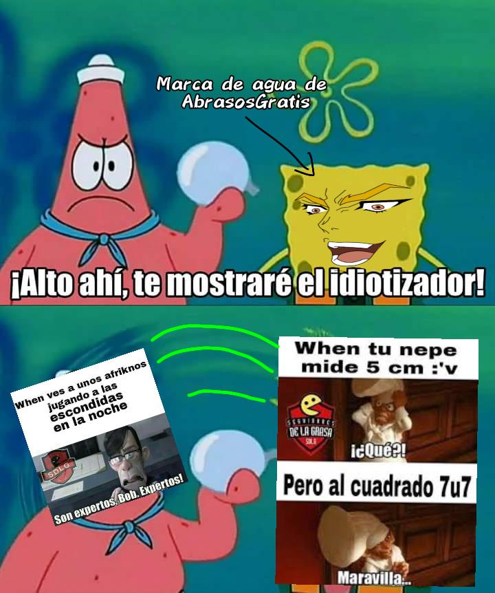 Rayo idiotizador activado - meme