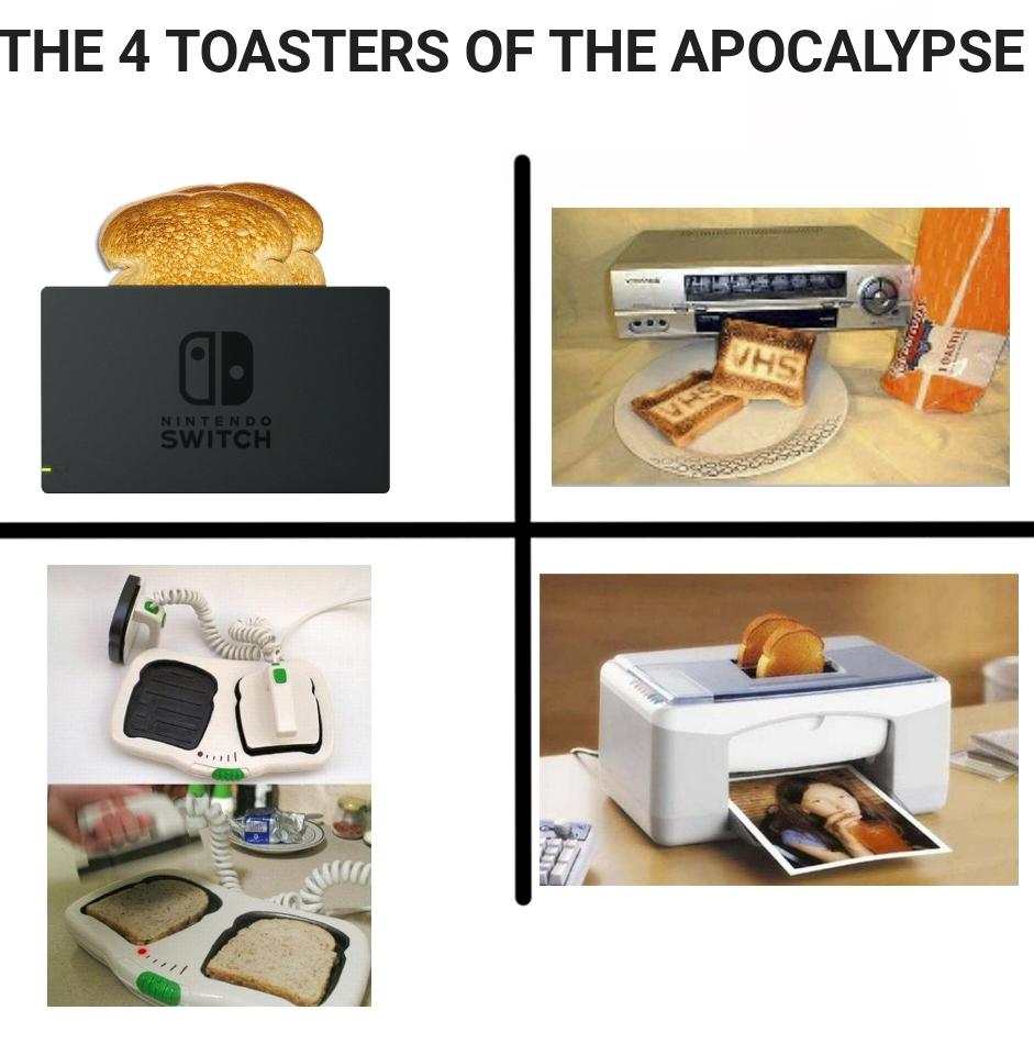 Toast yum - meme