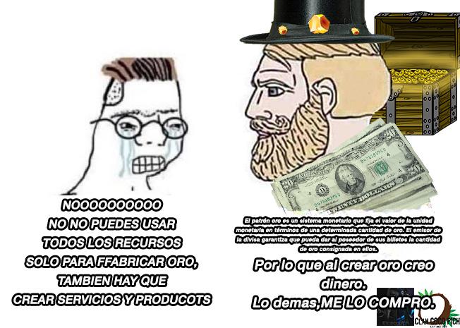 los que saben de economia digan lo obio en los comentarios. Cabe aclarar. Yo ya lose - meme