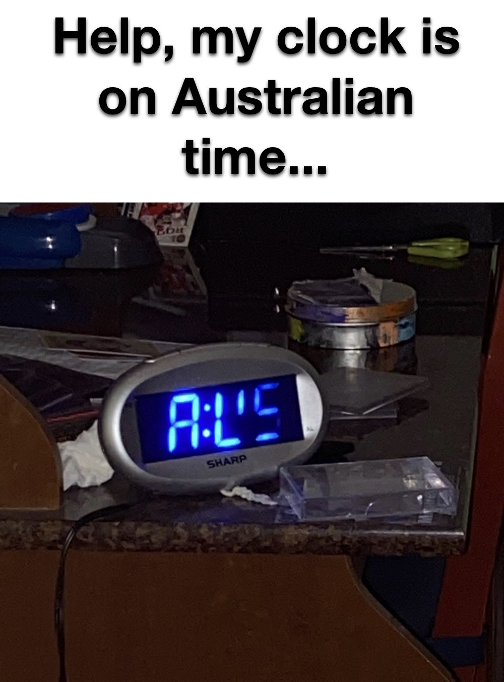 I love this clock - meme