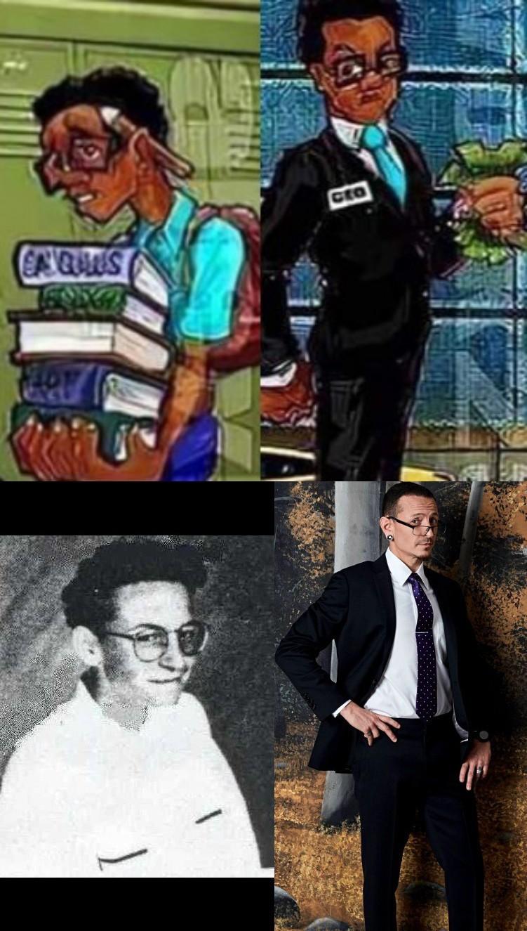 El nerd en vida real - meme