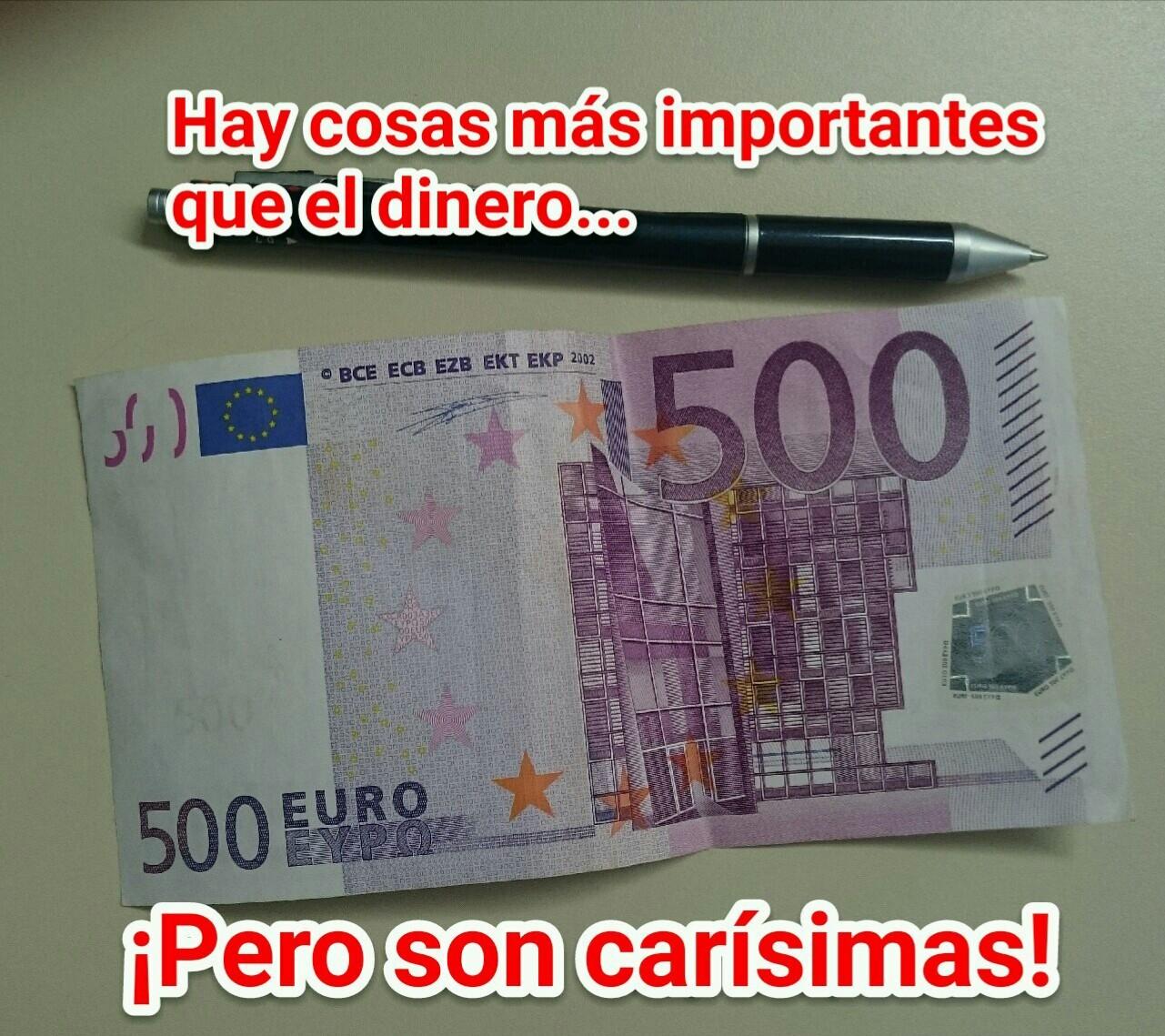 Dinero es dinero - meme