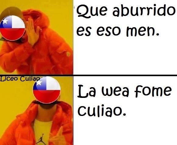 que wea weon la wea - meme