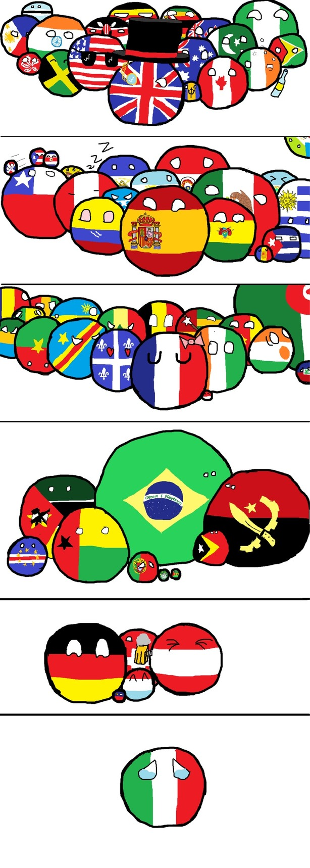 Familias de lenguajes - meme
