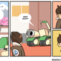 #7 of Overwatch Series | Any wishes for another game? | DISCLAIMER: I am NOT the creator of this comic, credits got to NERFNOW.com ! |