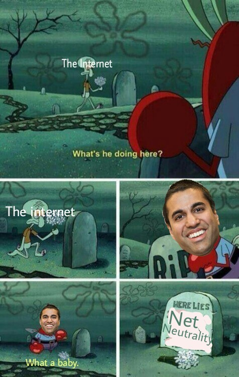 Ajit Pai should go die - meme