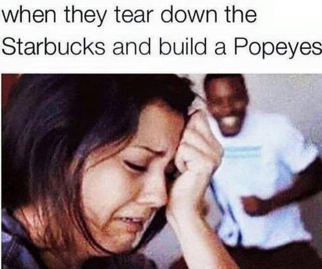 Starbucks closed - meme